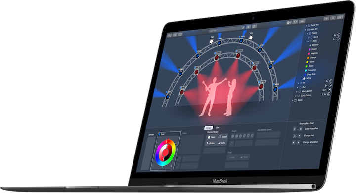 Lightkey – Professional DMX Lighting Control  Mac Style